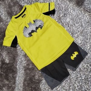 2pc 🦇Batman🦇 Shirt & Shorts Set